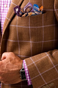 How to MATCH Pocket Squares with Your Outfit? By Glamorous Pochette