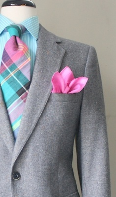 how to match pocket square